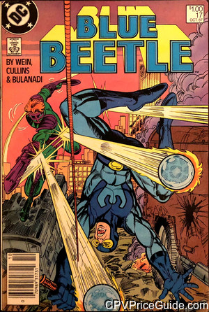 blue beetle 17 cpv canadian price variant image